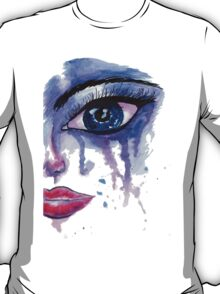 Painted Stylized Face T-Shirt