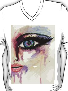 Painted Stylized Face 2 T-Shirt