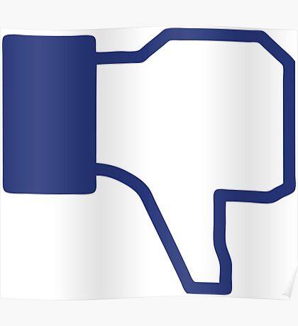 Dislike - Facebook Poster