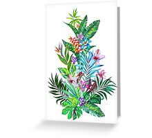 Tropical Fest Greeting Card