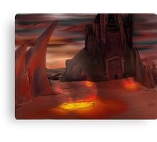 Lava Kingdom Canvas Print
