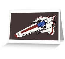 Colonial Mk II Viper Greeting Card