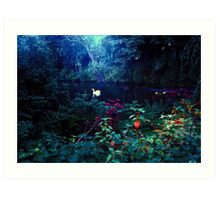 heavenly light leak, kelsey park, beckenham, u.k. Art Print