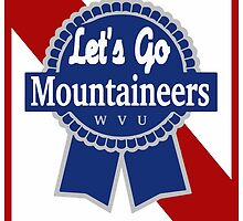 Lets Go Mountaineer Pabst Design by austronaut