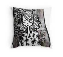 Patterns of my life Throw Pillow
