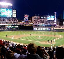 Twins Stadium panorama by MillmarMedia