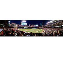 Twins Stadium panorama Photographic Print
