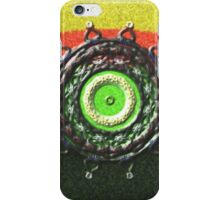 Abstract pattern with circle shapes iPhone Case/Skin
