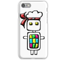 Ninja-bot Mascot  iPhone Case/Skin