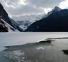 The Promise of Spring - Lake Louise  by Barbara Burkhardt