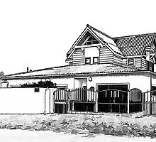 The Parker Home by Warren. A. Williams