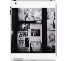 Vintage postings featuring famous people  iPad Case/Skin