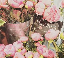 Market Peonies by pizzazzdesign