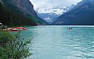 In Summer they Came - Lake Louise by Barbara Burkhardt