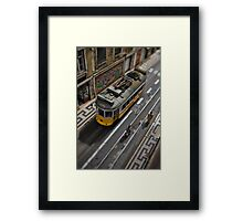 Next Stop ... Mr. Roger's Neighborhood Framed Print