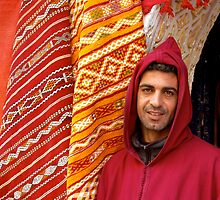 Moroccan shopkeeper by bevgeorge