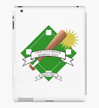 Onett Baseball Bat Logo iPad Case/Skin