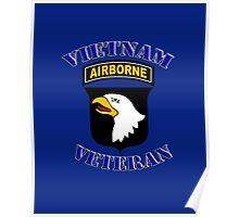 101st Airborne Vietnam Veteran -  iPad Case Poster