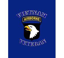 101st Airborne Vietnam Veteran -  iPad Case Photographic Print