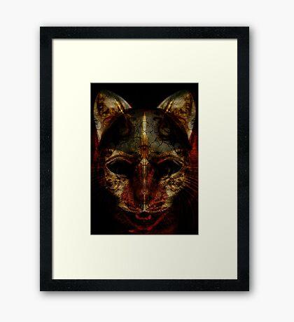 Cat Beast Framed Print