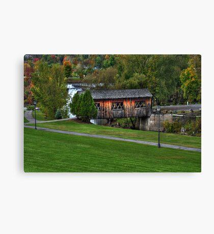 New York's Adirondack region VII Canvas Print