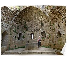 Ruins of the Mary Chapel of Peyperituse Poster
