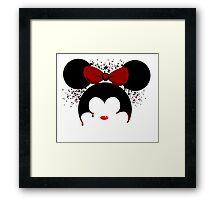 Murderous Minnie Mouse Framed Print