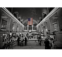 Stars and Stripes at Rush Hour Photographic Print