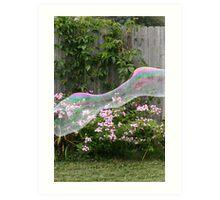 Bubble Fun Art Print