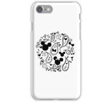 Minnie & Mickey Paisley iPhone Case/Skin