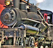 Little steam engine Sticker