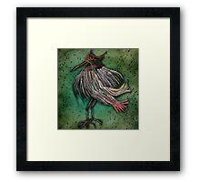 Blind Bird Framed Print