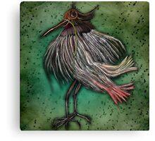 Blind Bird Canvas Print
