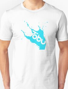 Tobu - Blue Splash Unisex T-Shirt