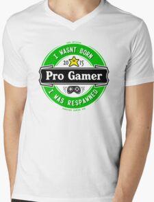 Pro Gamer Mens V-Neck T-Shirt