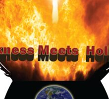 Blackness Meets Holiness Sticker