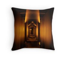 Geometry and Light Throw Pillow
