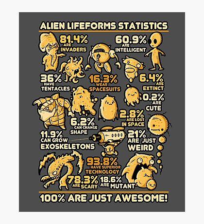 Alien Statistics Photographic Print