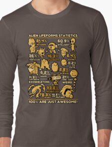 Alien Statistics Long Sleeve T-Shirt
