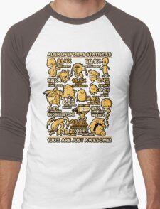 Alien Statistics Men's Baseball ¾ T-Shirt