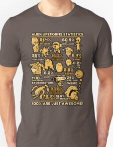 Alien Statistics T-Shirt