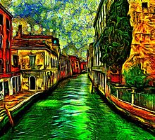 Venice Canals Fine Art Print by stockfineart