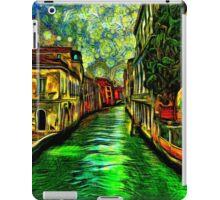 Venice Canals Fine Art Print iPad Case/Skin