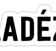 FLADEZA BLACK Sticker