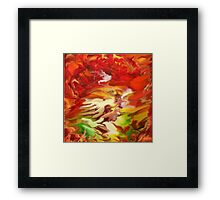 Untitled Abstract- 24-WALL  Art + Products Design  Framed Print