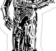 80s Droid Sticker