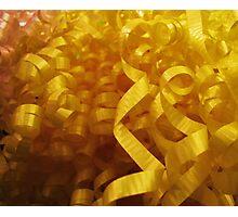 Ribbons Photographic Print