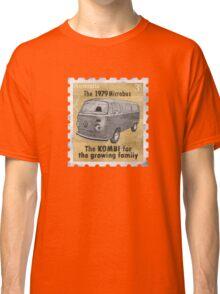 Volkswagen tee shirt - Late Bay stamp Classic T-Shirt