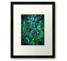 Underwater Wood 2 Framed Print