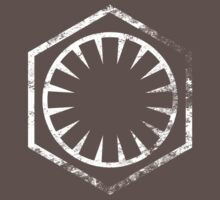 Force Awakens First Order Insignia (white) by eestes